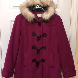 🚐SHIPS FREE! Beautiful L.L. Bean Wool-blend Coat